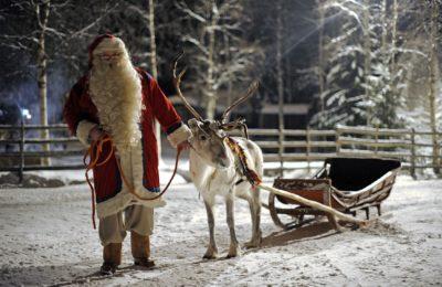 Santa si existe.