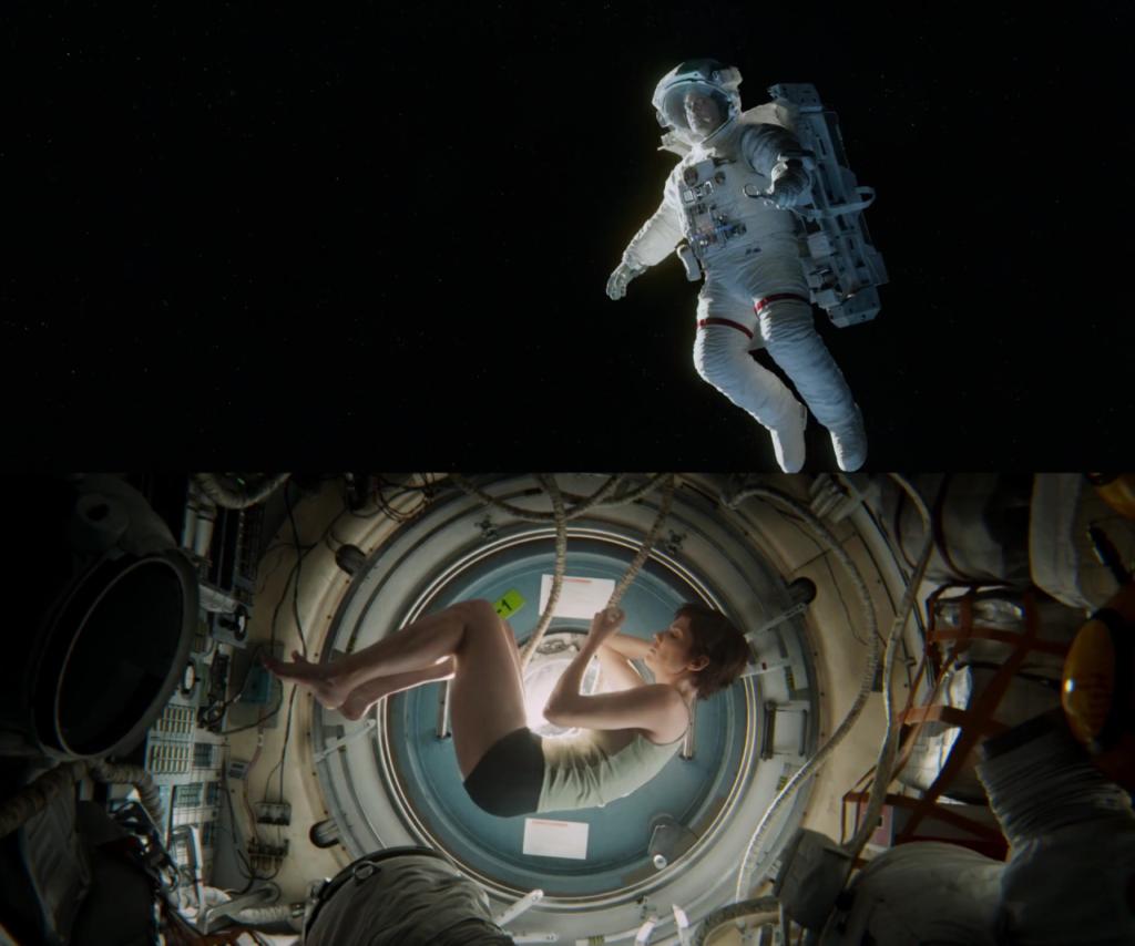 Gravity de Alfonso Cuarón - Efectos Especiales