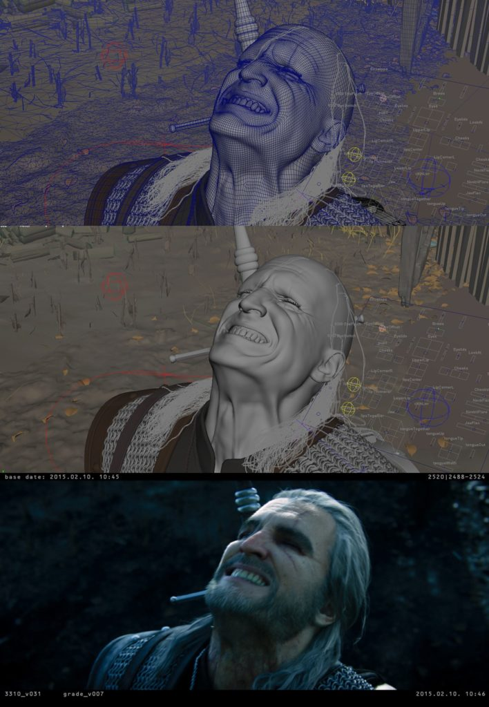 Proceso Digic Pictures para The Witcher 3 Cinematic