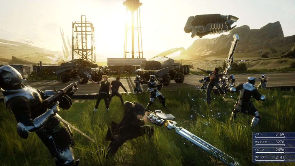 Final Fantasy FFXV-Battles