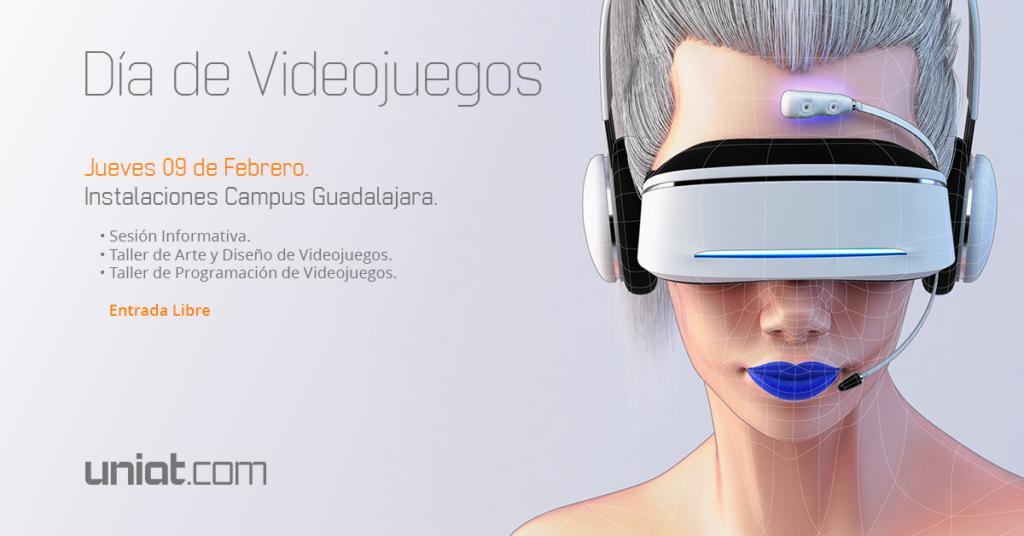 #DíaDeVideojuegos en el campus Guadalajara y en línea
