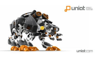 UNIAT Wallpaper Quadbot