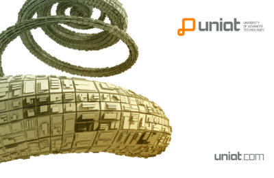 UNIAT Wallpaper Spiral