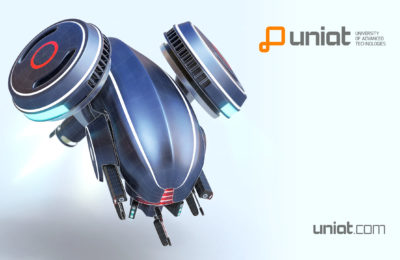 UNIAT Wallpaper Drone